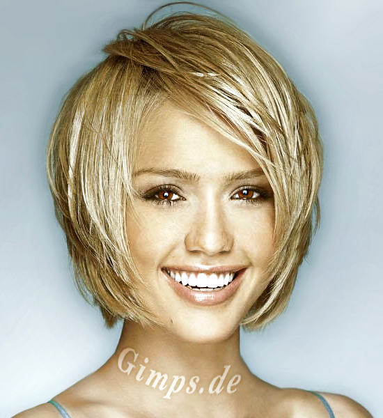 The Best Short Hairstyle for Girls with Side Fringe Layer Good