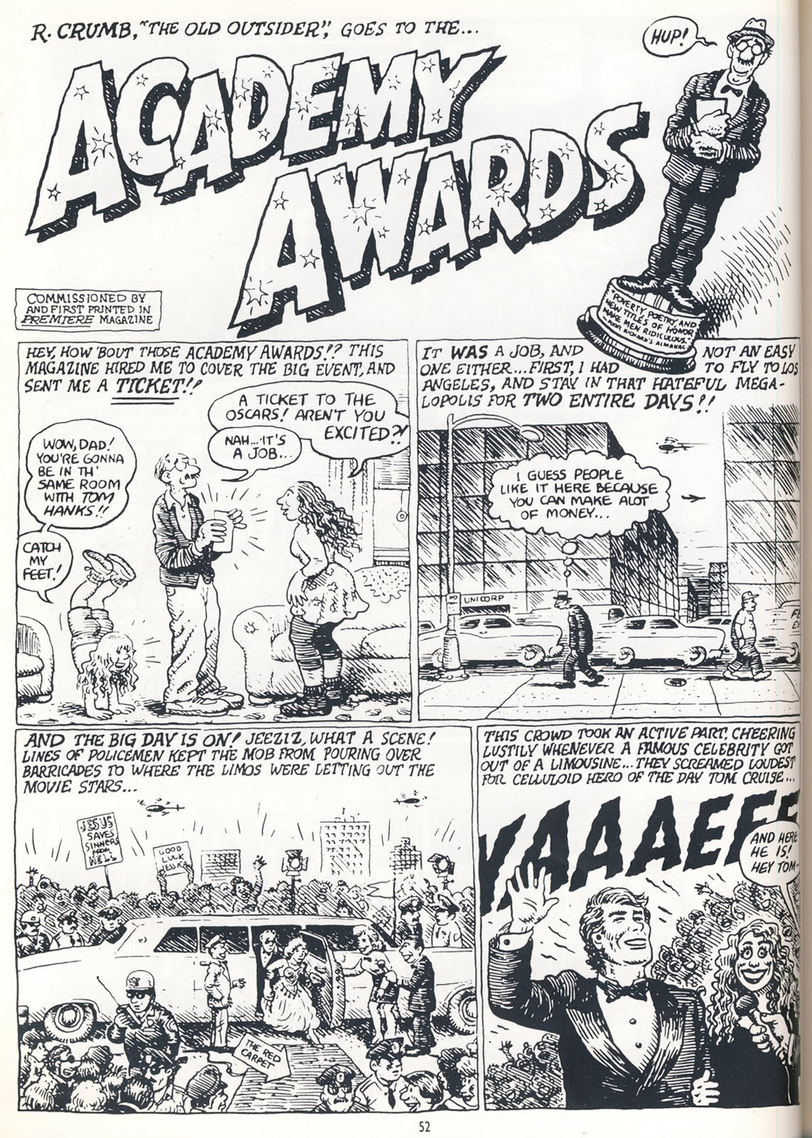 robert crumb essays 'crumb': portrait of an artist as few people outside the world of comic-book fandom may have heard of robert crumb and a booklet featuring an essay by film.