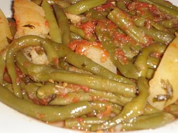 Greek Fresh Green Beans (Fasolakia) Recipe