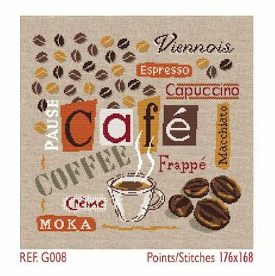 Схема Кофе от Lili Points