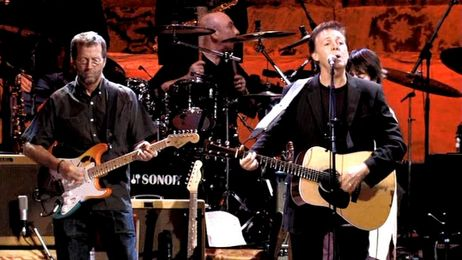 Paul McCartney participa de novo disco de Eric Clapton