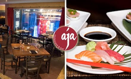 A day late and a dollar short today 39 s groupon atl deal for Aja asian cuisine