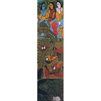mani mala patua scroll painting india