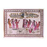 Yashoda Devi madhubani painting<br />