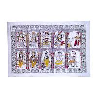 Yashoda Devi mithila painting<br />