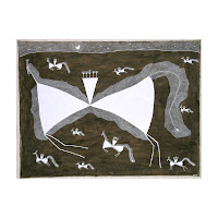 balu mashe warli painting india