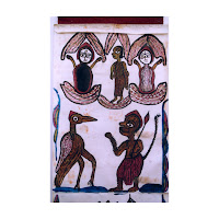 jadupatua scroll painting bihar west bengal