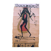 jadu patua scroll painting