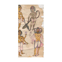 santal pargana scroll painting bihar west bengal