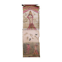 santhal pargana scroll painting bihar west bengal