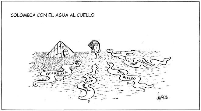 Colombia con el agua al cuello
