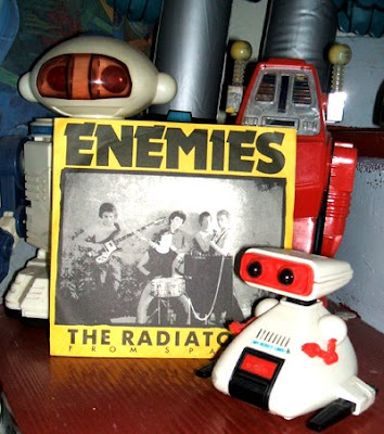 The Radiators From Space Enemies 1977 chiswick records punk