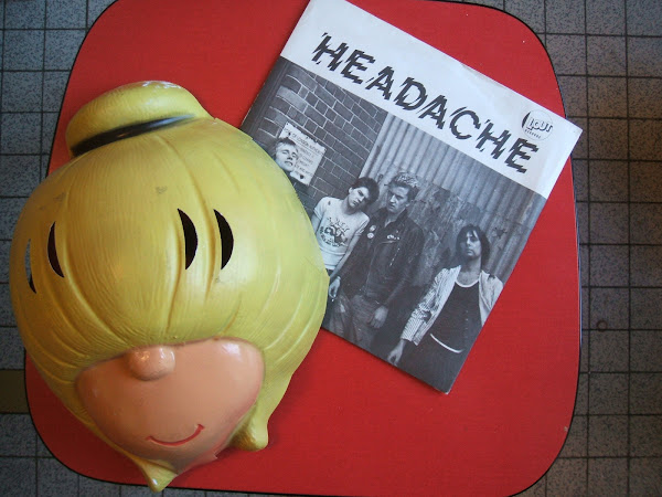 HEADACHE  Can't stand still  1977 Lout records punk