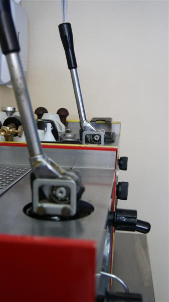 rancilio lever espresso machine