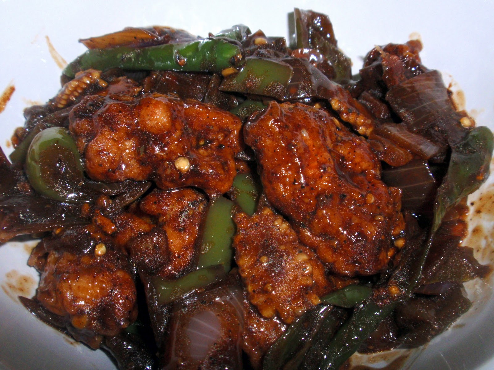 Everybunny Loves Food: Chilli Chicken