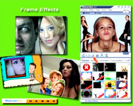 Advanced utility to work with a webcam. Programs, adds amazing video effects ...