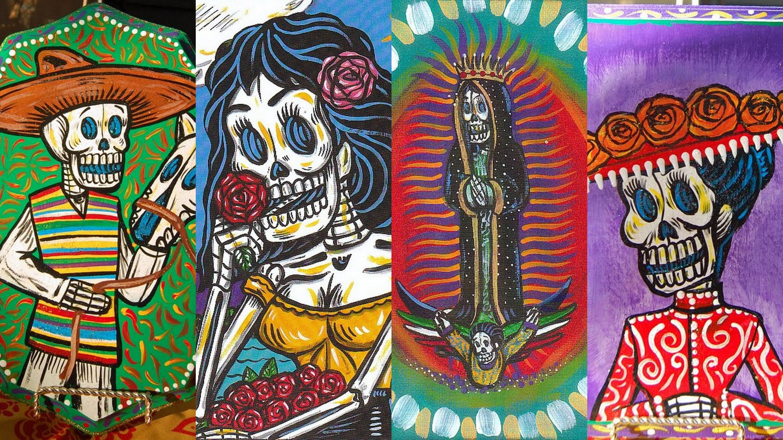 Chicano Pop Art by Patrick