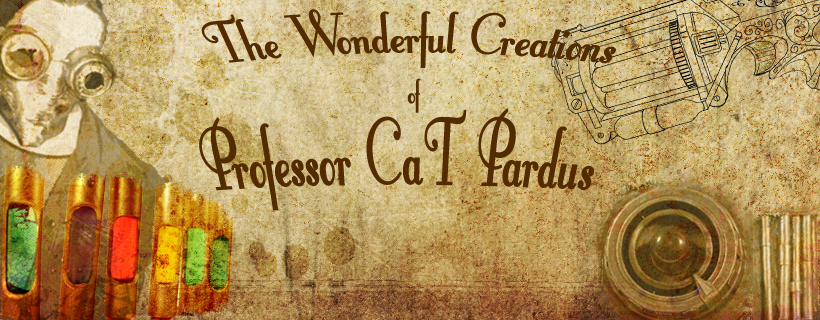 The Wonderful Steampunk Creations of  Professor CaT Pardus