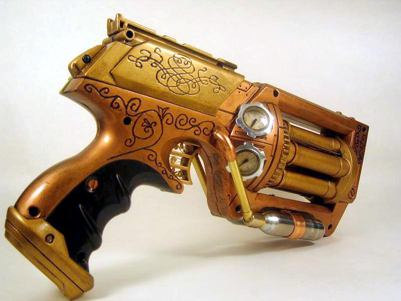 steampunk                    scrapbookFuture Nerf Guns 2014