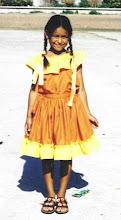 Mi sobrina Sarita a los 9 años