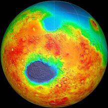 Mars Southern Hemisphere