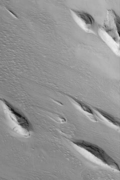 Mars Yardang