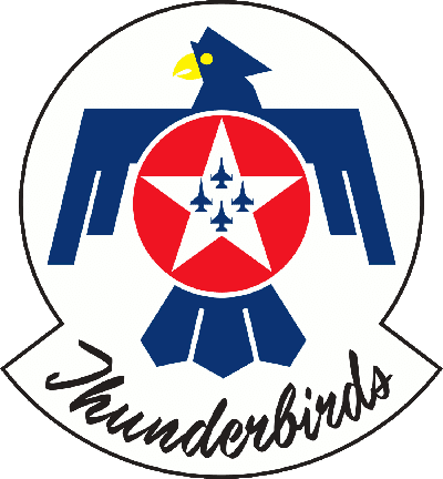 United States Air Force Thunderbirds Logo