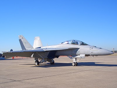 F-18 Hornet - Tail Number 134 - Front