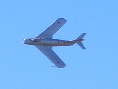 Mikoyan-Gurevich MiG-17 Flyby