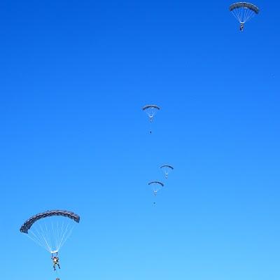 USAF CCT HALO Jump - Team Gliding