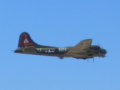 Lackland AFB Air Fest: B-17 Flying Fortress