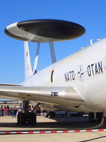 Lackland AFB Air Fest: E-3 Sentry's Radar