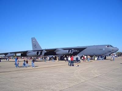 Lackland AFB Air Fest: B-52 Stratofortress