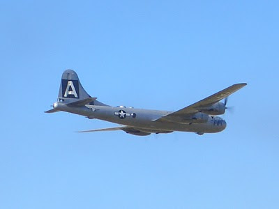 Lackland AFB Air Fest: B-29 Superfortress Flyby