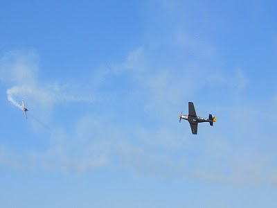 Lackland AFB Air Fest: Tora! Tora! Tora! - P51 Fight Back