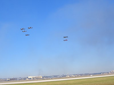 Lackland AFB Air Fest: Tora! Tora! Tora! - Japan Aircraft Fly Away