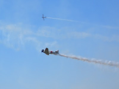 Lackland AFB Air Fest: Tora! Tora! Tora! - Japan Aircraft Leave