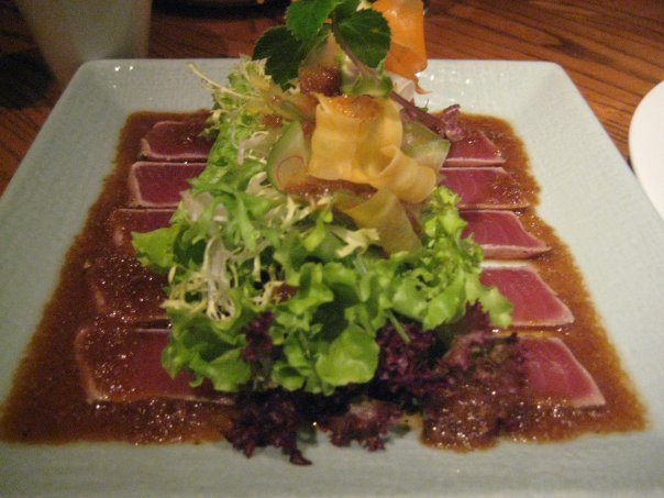 Nobu hong kong gastronomous anonymous for Sashimi dressing