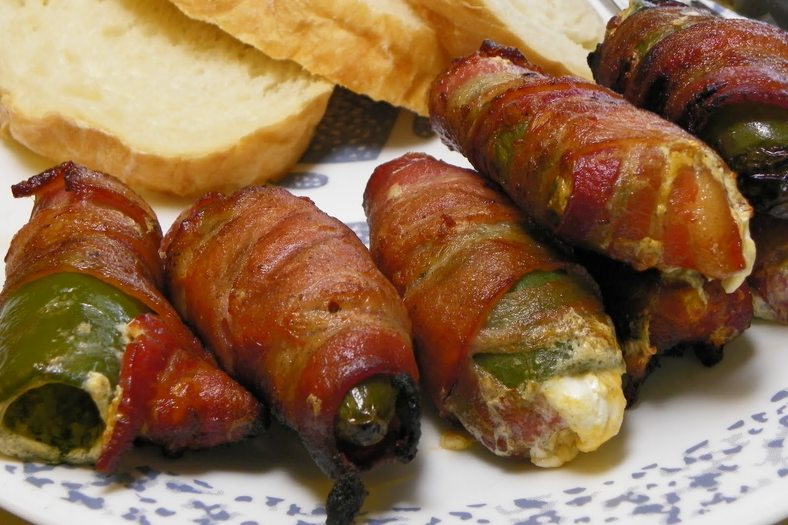 Bacon Wrapped Jalapeno Poppers - Bacon Meals