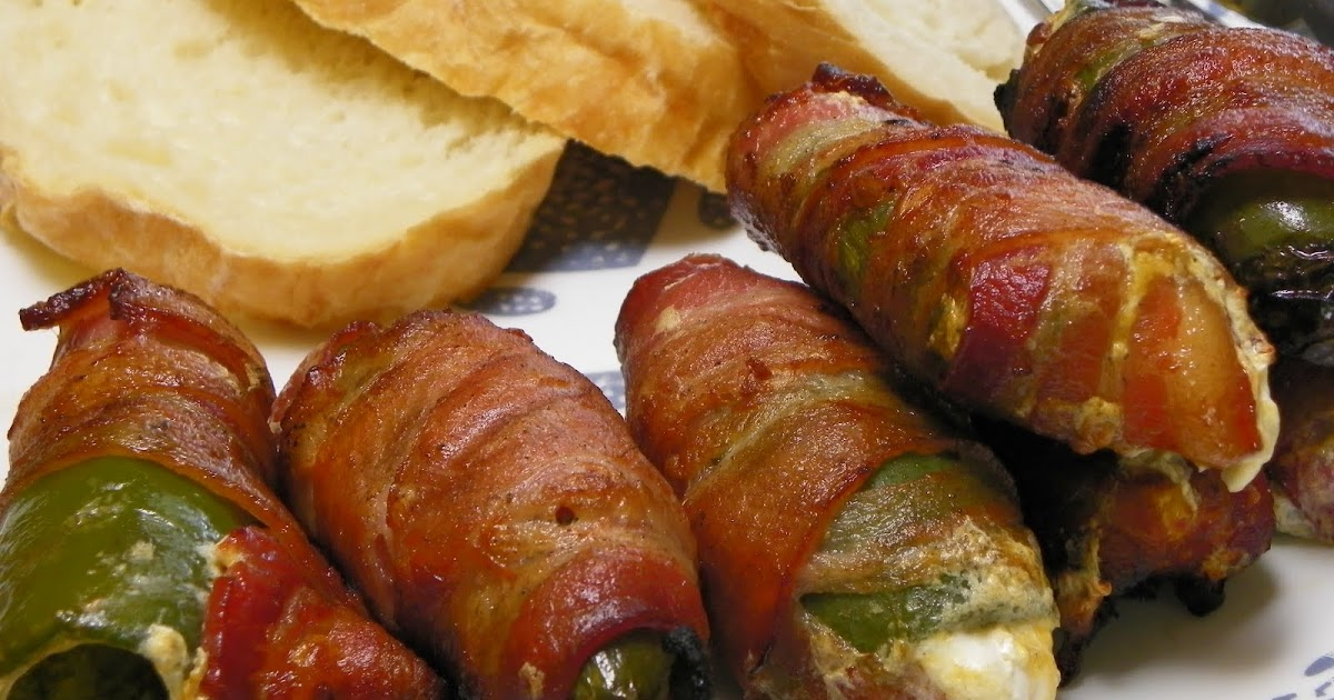 Having Fun in the Kitchen!: Bacon Wrapped Jalapenos on the Grill