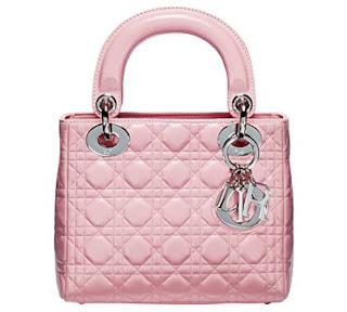 Accessori 3 Dior+Pink+Leather+Lady+Dior+Bag+1