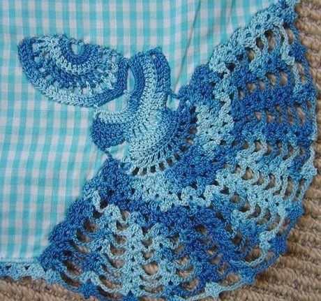 Doting on Doilies: Crinoline Lady