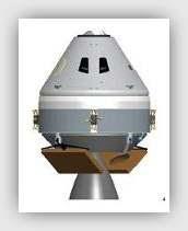cápsula Orión el nuevo transbordador con un aire retro