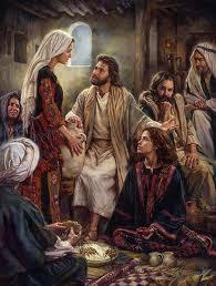 تذكار مريم ومرثا أختي لعازر حبيب يسوع
