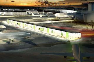 Swift terminal at Copenhagen Airport