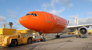 TNT aircraft at Malmö Airport, Sweden