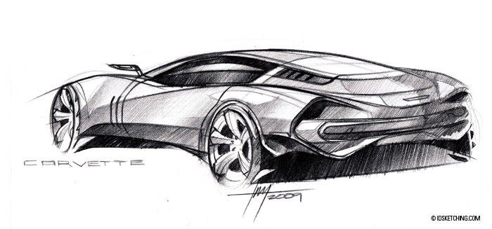 bazbiz wallpaper car and drag modifications: Car pencil sketch tutorial