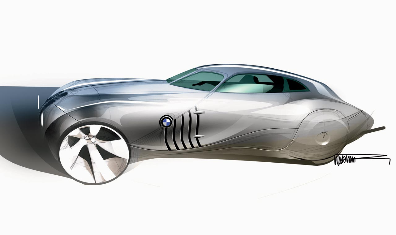 Bmw Design Mille Miglia Concept Car Sketches Car Design Education Tips