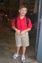 Carter 1st day at Kindergarten