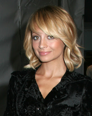 Blonde And Black Hair Cuts. Nicole Richie Hair